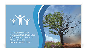Changing Season Business Card Template