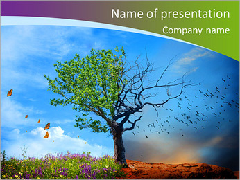 Changing Season PowerPoint Template