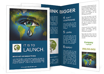 Protect Our Planet Brochure Template Design Id 0000006635
