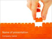 Lego Wall PowerPoint Templates