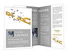 Golden Chain Brochure Templates
