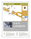 Golden Chain Flyer Template