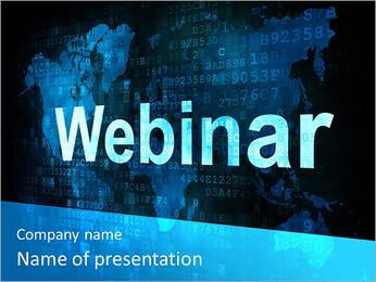 Webinar On-line PowerPoint Template