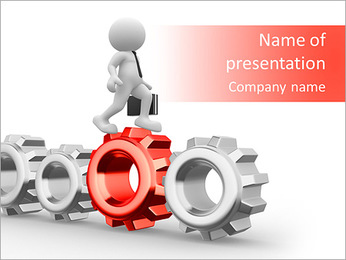 Promotion Mechanism PowerPoint Template