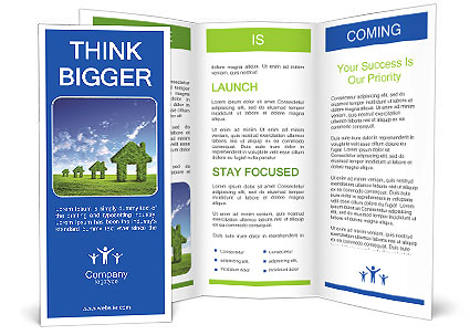 Eco House Brochure Template Design ID - Information brochure template