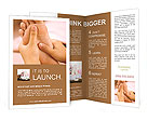 Feet Massage Brochure Templates