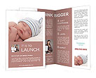 New Born Baby Brochure Templates