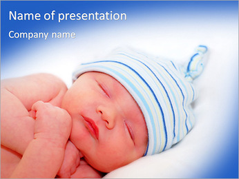 New Born Baby PowerPoint Template
