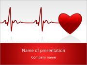 Tlukot srdce PowerPoint šablony