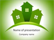 Green Society PowerPoint Templates