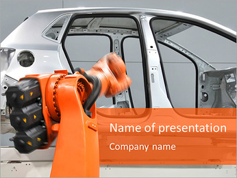 Fabrication de voitures Modèles des présentations  PowerPoint