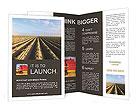 Harvest Season Brochure Template