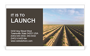 Harvest Season Business Card Template