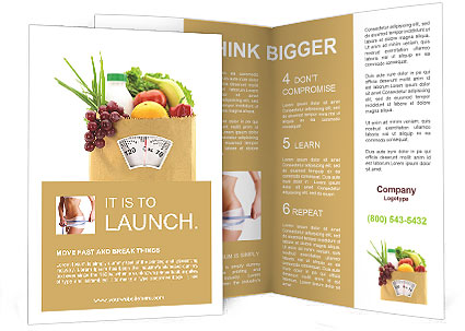 Delighted Diet Template Ideas Example Business Resume Ideas - Nutrition brochure template