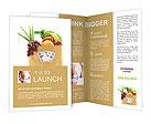 Fruit Diet Brochure Templates