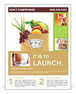 Fruit Diet Flyer Template