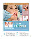 Child At Dentist Flyer Template