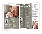 Retired Man Brochure Templates