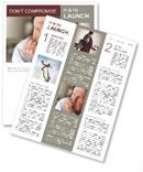 Retired Man Newsletter Templates
