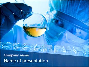 Lab Tube Modèles des présentations  PowerPoint - Diapositives 1
