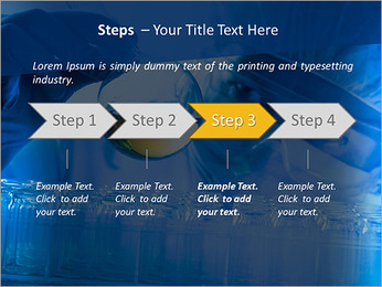 Lab Tube Modèles des présentations  PowerPoint - Diapositives 4