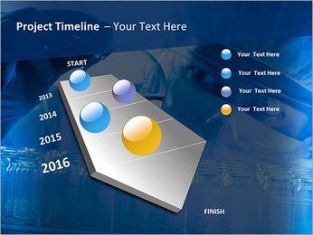 Lab Tube Modèles des présentations  PowerPoint - Diapositives 6