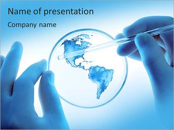 Micro Continent Modèles des présentations  PowerPoint - Diapositives 1