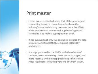 Micro Continent Modèles des présentations  PowerPoint - Diapositives 76
