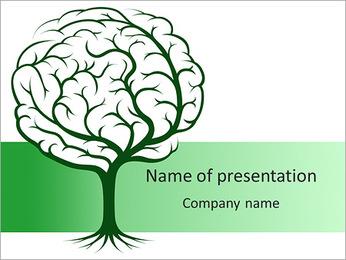 Brain Tree PowerPoint Template