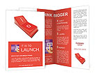 Cut Out Button Brochure Templates