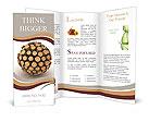 Wooden Sphere Brochure Templates