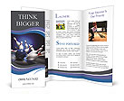 Bowling Win Brochure Templates