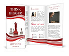 Playing Chess Brochure Templates