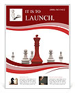 Playing Chess Flyer Templates