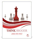 Playing Chess Poster Templates