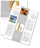 Golden Coins Newsletter Templates