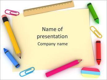 School Frame PowerPoint Template