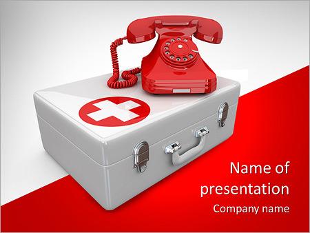 Ambulance - PowerPoint Template - SmileTemplates.com
