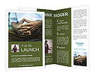 Male Hands Brochure Templates