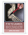 Business As Domino Game Ad Template