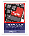 Risk Button Ad Template