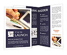 Safety First Stamp Brochure Templates