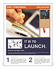 Safety First Stamp Flyer Template