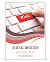 Press Risk Button Ad Template