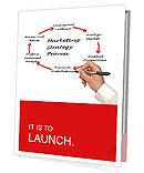 Marketing Strategy Process Presentation Folder