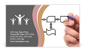 Business Scheme Business Card Template