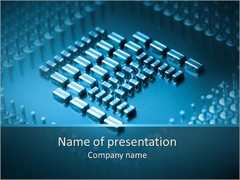 Computer Micro Scheme PowerPoint Template