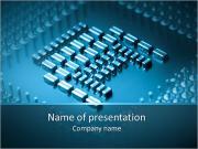 Компьютер Микро Схема Шаблоны презентаций PowerPoint