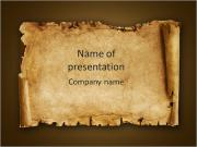 Old Papyrus PowerPoint presentationsmallar