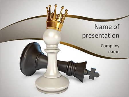 King chess figure powerpoint template backgrounds id 0000006787 king chess figure powerpoint templates toneelgroepblik Choice Image